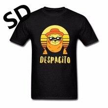 Despacito Sloth T-Shirt hombres 2018 nuevo gráfico tees camisa de  compresión manga corta novedad c39856a72ecbd