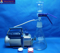 2000ml membrane filter+vacuum pump+filtering membrane,Ultra low cost Vacuum filtration apparatus