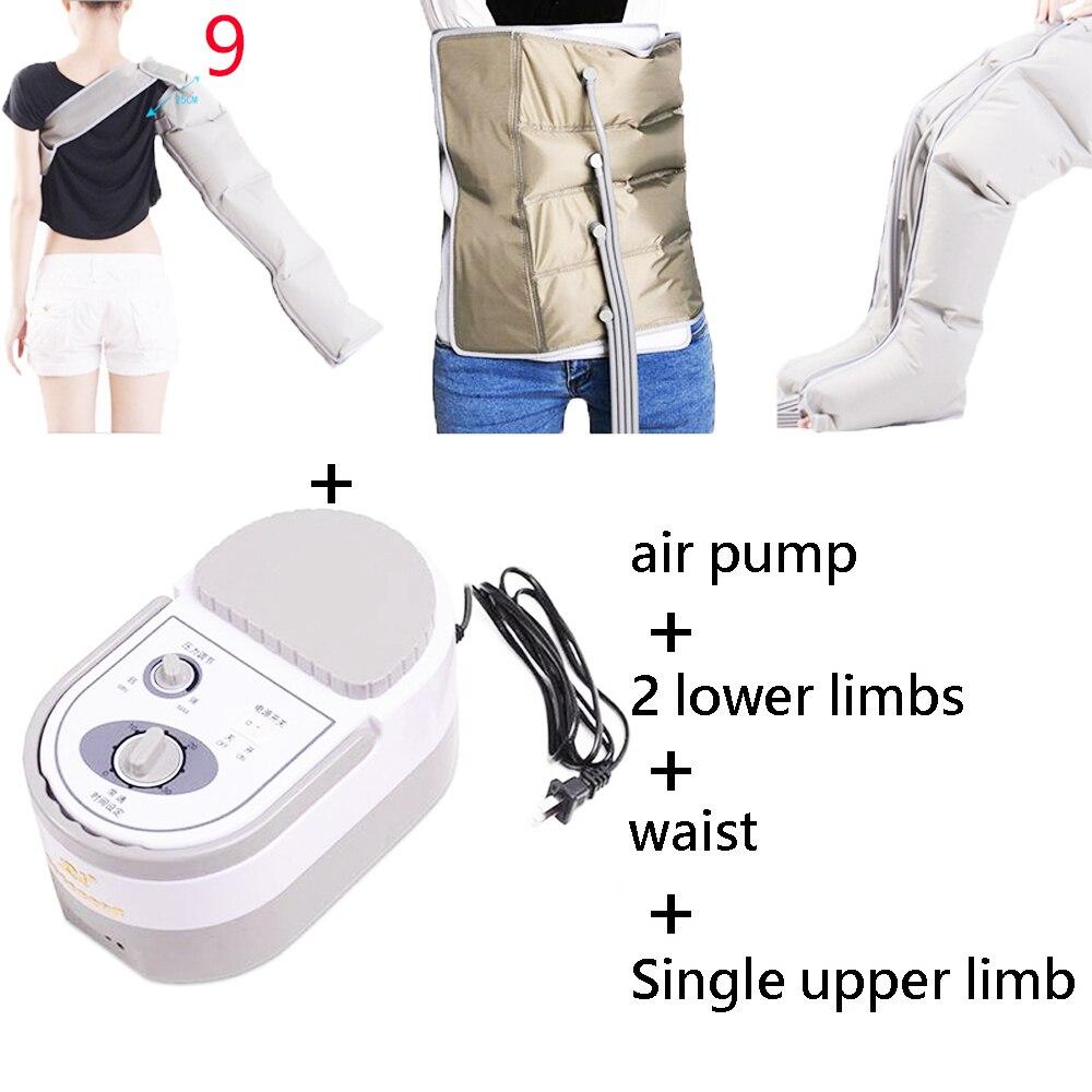 Personnes âgées Pneumatique Jambe Masseur Pétrissage Pied Jambe De Massage Instrument Électrique Air Vague Pression Physiothérapie Massage