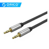 ORICO AUX Cable 3.5mm Audio Cable Male To Male Stereo Speaker Line For Car Headphone Laptop iPhone X Samsung Xiaomi galaxy S8
