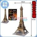 Большие эйфелева башня 3d-пазл собраны модель своими руками ручной работы подарок игрушка необычные игрушка образовательный игрушка