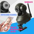 Melhor Casa de Segurança Sem Fio Wi-fi Câmera de Vídeo Indoor P2P barato pan tilt câmera ip wi-fi full hd