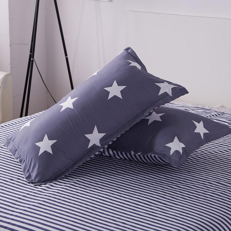 1pc 48cm*74cm Fruit Print Cartoon Pillowcases Sunshine Watermelon Banana Pillow Cases Soft Home Textile Bedding Use