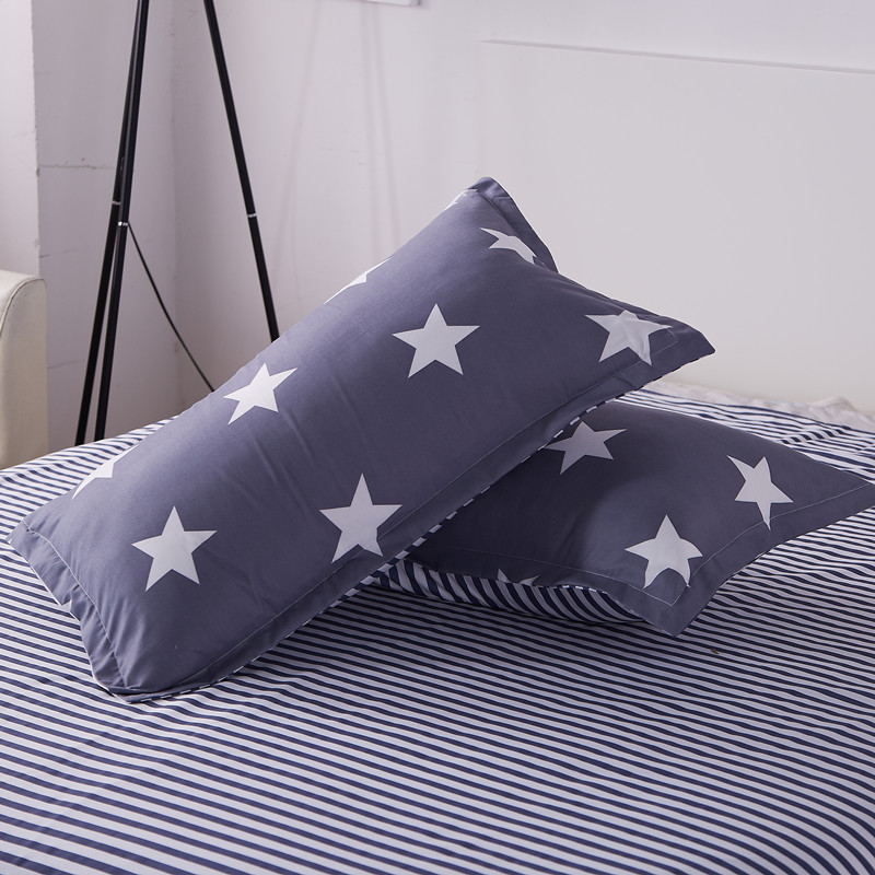 1pc 48cm*74cm Fruit Print Cartoon Pillowcases Sunshine Watermelon Banana Pillow Cases Soft Home Textile Bedding Use