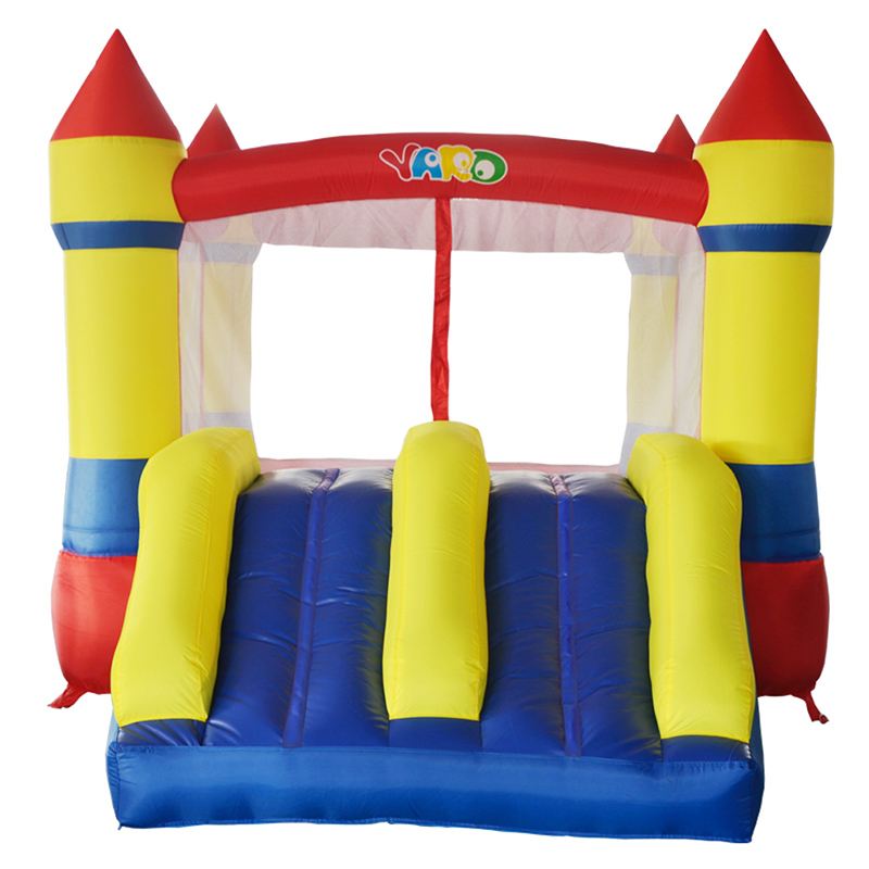 YARD High Quality Kids Nylon Bounce House Inflatable Bouncer Inflatable Jumping Jumper Bouncy Castle with Slide for Outdoor  yard dhl free shipping inflatable bouncer bouncy jumper colorful castle with long slide for kids