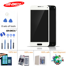 4.5Sinbeda 100% Amoled LCD For Samsung Galaxy S5 Mini DisplayTouch Screen Digitizer G800 for Display
