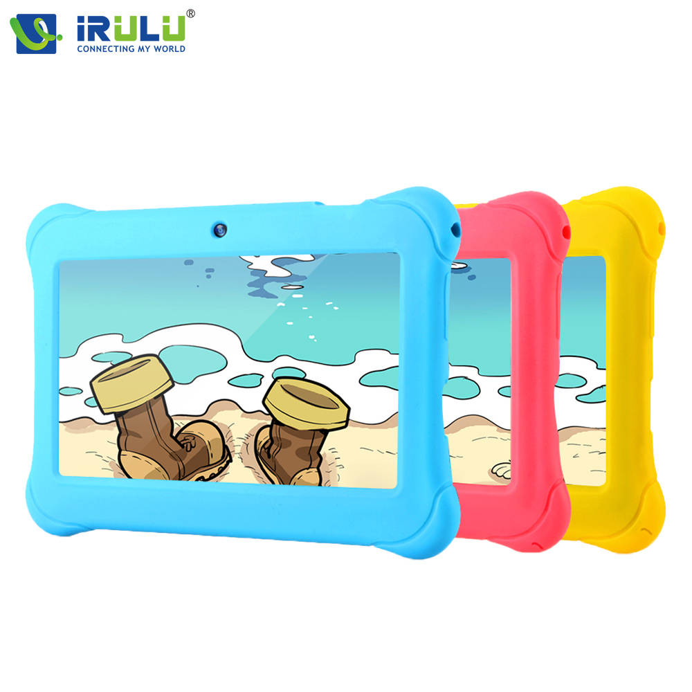 iRULU Y1 BabyPad 7 Android 4 4 Tablet For Kids Quad Core Dual Cameras Google GMS