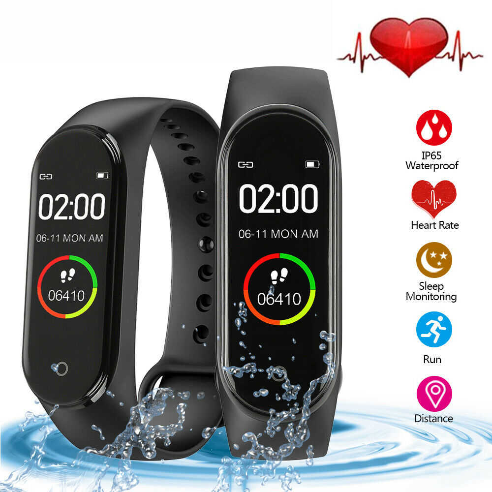 Advanced Hot smart watch M4 touch screen pedometer monitoring function  female smart watch women men female for Android IOS+BOX
