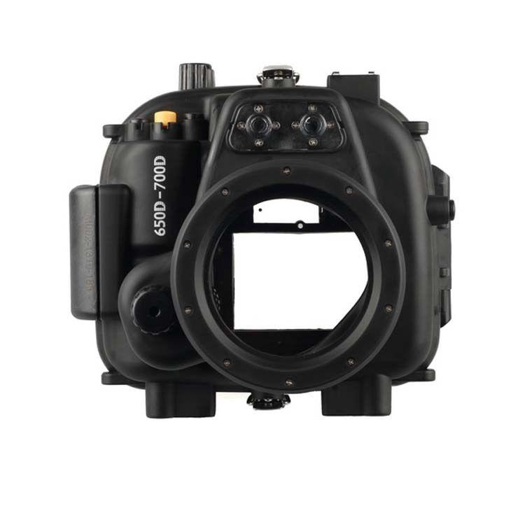 Meikon submarino impermeable vivienda caso para Canon EOS 650D 700D