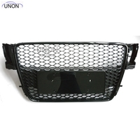 Car styling 2007~2011 A5 RS5 Sline black Emblem Front Bumper mesh Grill Grille For Audi A5 S5 RS5 S Line