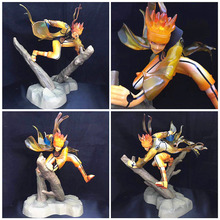 Anime Naruto figure Uzumaki Naruto celestial being Nine tails mode PVC action figure collection model toy