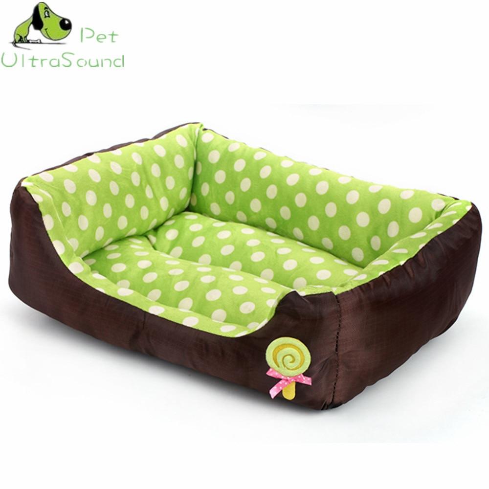 ULTRASOUND PET All Seasons Small Medium Size Extra Pet Dog Bed House Sofa Kennel Soft Dots Fleece Pet Dog Cat Warm Bed S M L 9