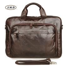 цены J.M.D New Products 100% Genuine Vintage Laptop Bag Business Briefcase Practical Classic Design Shoulder Bag Handbag 7334Q