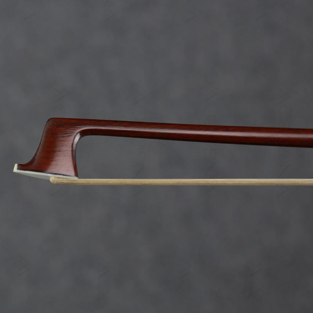 920 V 4/4 Size Master Pernambuco VIOOL BOOG Ebbenhout Nikkel Zilver - Muziekinstrumenten - Foto 3