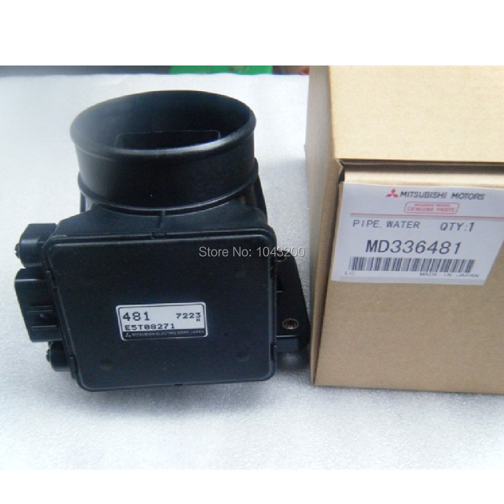 MD343605 Maf Mass Air Flow Meter Sensor Fits For Mitsubishi 97-99 2.4 MONTERO 98-02 MIRAGE 02-07 LANCER L4 MAF 917-967 цены