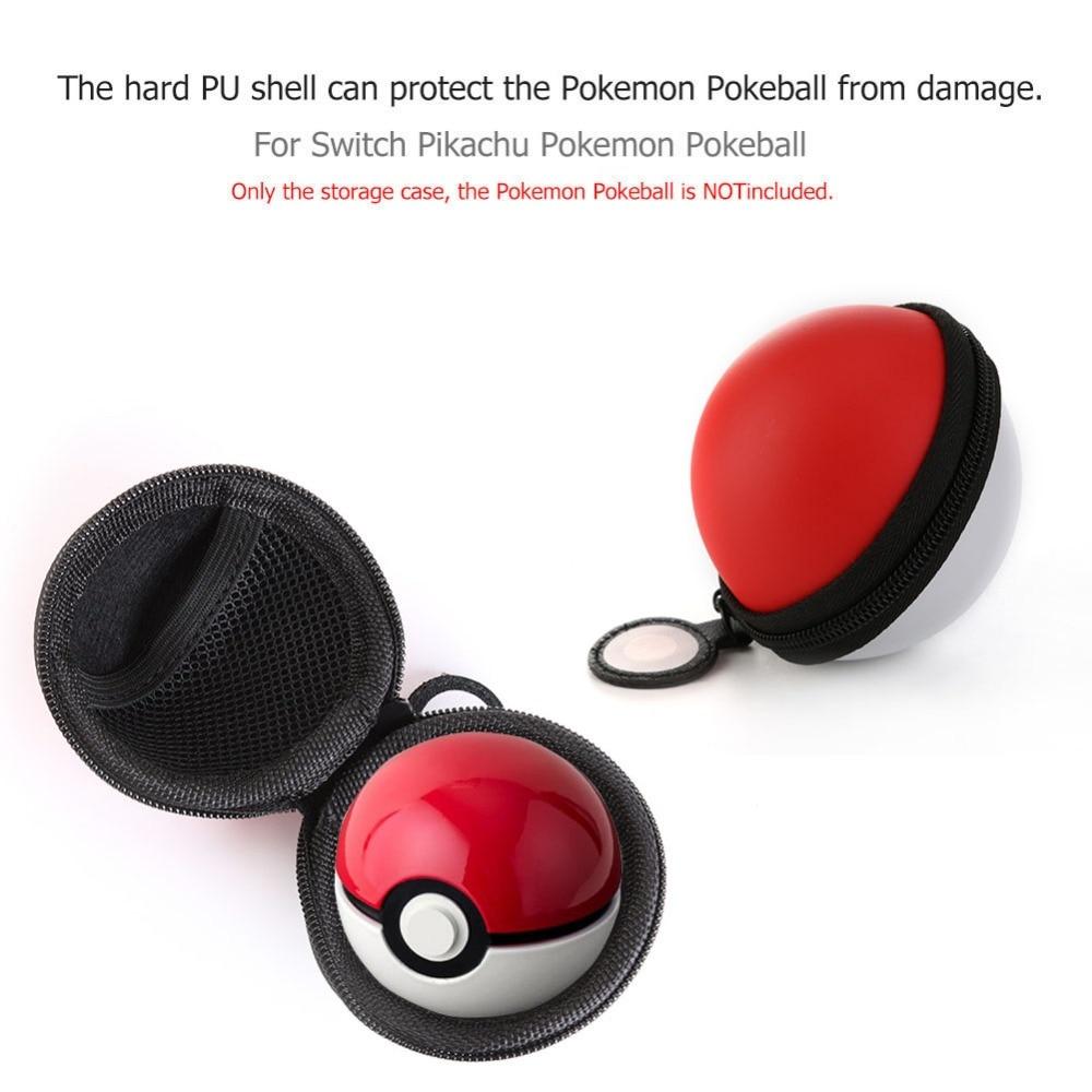 Für Schalter Pokemon Tragbare Eva Hartschalenkoffer Lagerung Box Schutzhülle Pouch Organizer Tasche Fall Für Schalter Pokemon Pokeball SorgfäLtige Berechnung Und Strikte Budgetierung Unterhaltungselektronik