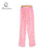 Pants Pajamas Womens Pajama Bottoms Pantalon De Pijama Verano Mujer Lounge Pants Women 8087