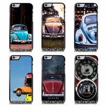 Volkswagen Beetle Tampa Do Caso Para o iphone 4S 5S SE 6 s 7 8 9 Plus XR XS Max Samsung Nota s4 S5 S6 S7 S8 S9 Borda Mini(China)