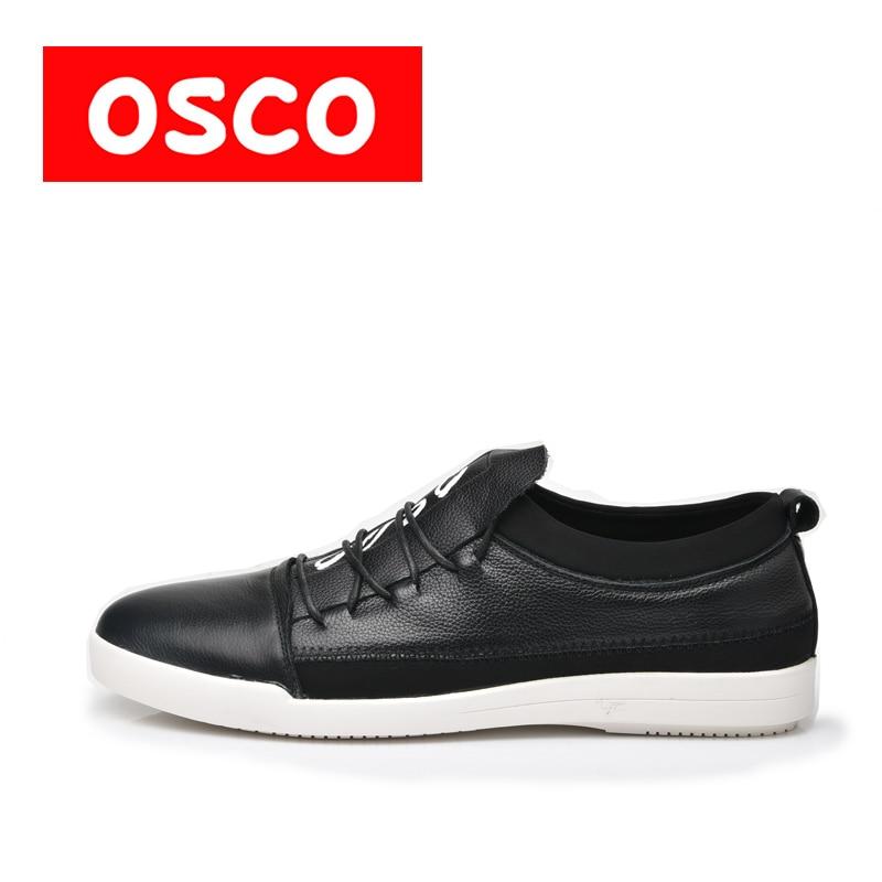 коляски трости esspero all season leather OSCO ALL SEASON New Men leather Shoes Fashion Men Casual Breathable men Shoes S#S6004