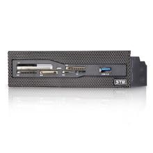 Все в одном 5,25 дюймовая панель USB2.0 кард-ридер CF/SD/MS/TF/XD с USB 3,0 кронштейном QJY99