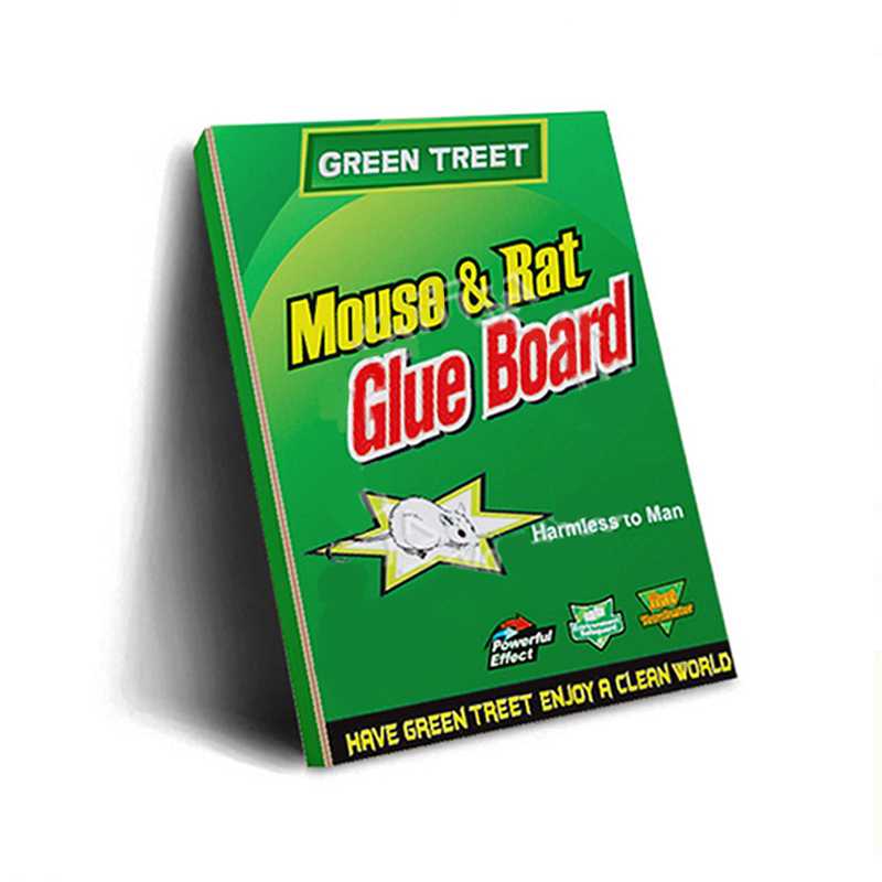 Mouse Board Sticky Rat Glue Trap Mouse Glue Board Mice Catcher Trap Non-toxic Pest Control Reject