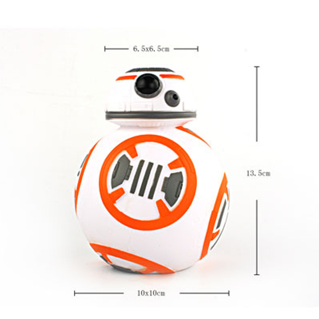 Star Wars The Force Awakens Vinyl BB8 Action Figures Bank