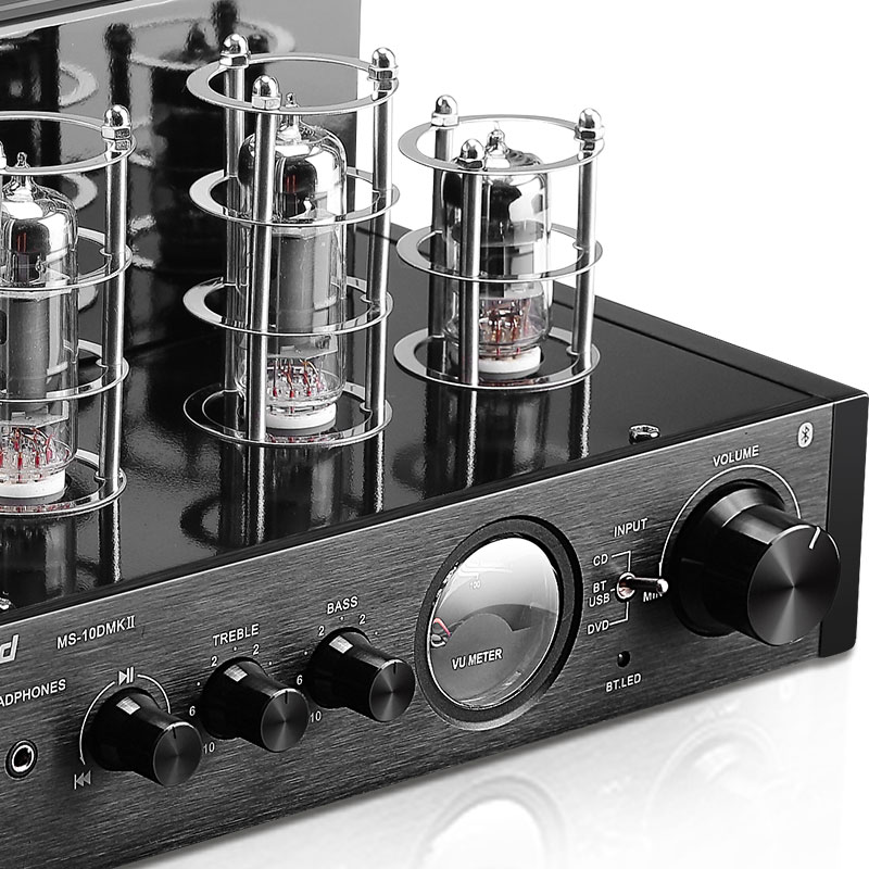 Nobsound MS-10D MKII Hifi 2.0 Amplifier USB/Home Audio tube amp 25W*2 220v amplificador bluetooth tube amplifier радиоприемник 25 hifi 25w