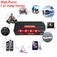 High Capacity 68800mAh Car Starter With Kit Power Source Emergency Start Battery 12V Car Battery Charger