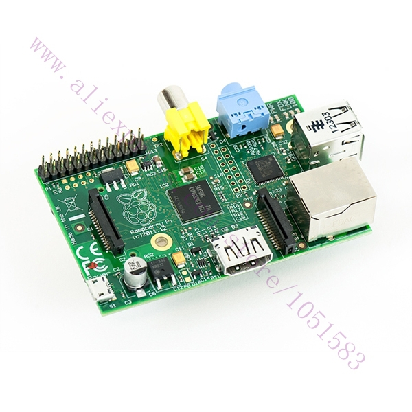 ФОТО Without Acrylic Box, Raspberry Pi Model B+ Featuring the ARM1176JZF-S Running at 700MHz, 512MB of RAM version Newest made in UK