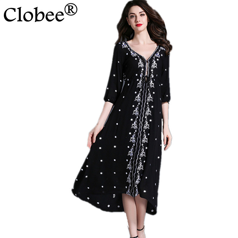 Women's Clothing Objective 8xl Large Size Short Sleeve V Neck Tunic Swing Dress Cotton Women Summer Polka Dot Dress Plus Size Dresses For Women 4xl 5xl 6xl