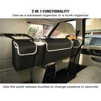 Car Styling Trunk Organizer High Capacity Storage Bag Car Organizer Backseat Bag Oxford Cloth Car Seat Organizer Car Accessories