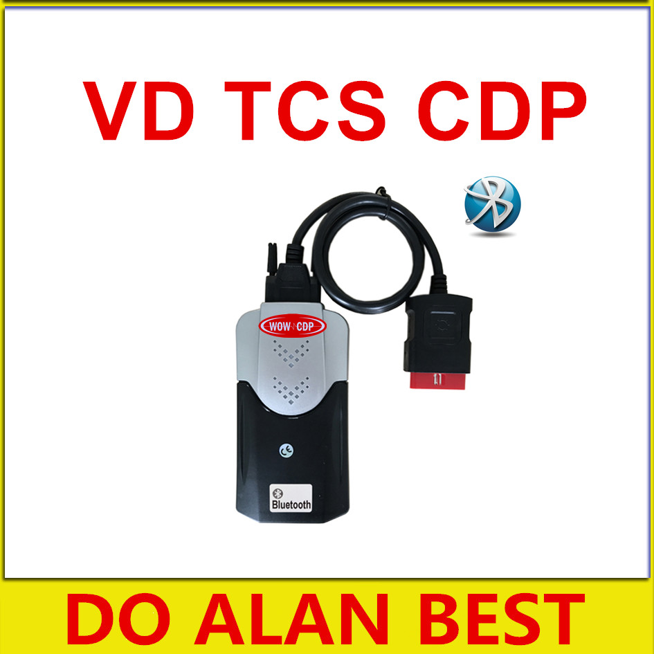 Цена за Синий pcb Bluetooth TCS cdp Pro Автомобили и грузовики OBD2 сканер 2014r3 VD/2015r3 keygen software факультативного