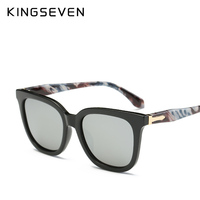 KINGSEVEN Sunglasses Women Accessories Cat Eye Style 2017 Leopard Brand Designer Fashion Shades Black UV400 SunGlasses