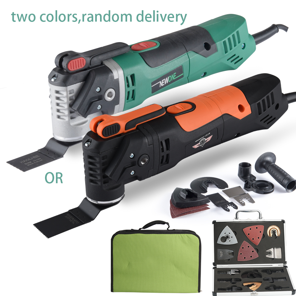 NEWONE Multi Function Electric Saw Renovator Tool Oscillating Trimmer woodworking tool with fabric bag and Aluminum