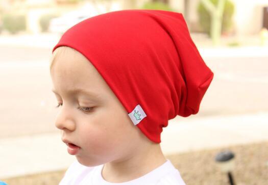 ELADÓ 1PCS 2017 Új 14 színű baba Tavaszi kalap Szilárd színű kalap Korona sapka gyerekeknek Baba lányok Fiúk