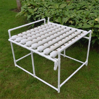 72 Site Soilless Cultivation Plant Deep Water Garden Vegetable Planting System Hydroponic Site Grow Kit Seedling Grow Box Holder