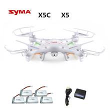 Syma X5C X5C-1 (Drone z kamerą 2 0 MP) Quadrocopter z kamerą RC Drone quadcopter lub Syma x5 x5-1 (brak kamery) 2 4 G 4CH dron tanie tanio Helikopter Pilota 100M PLASTIC Carbon Fiber Metal 4 kanały telewizyjne AA batteries(not included) 12-15 Years 8-11 Years 14 years old Grownups