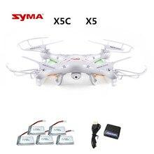 Syma X5C X5C-1 (Drone с Камера 2.0MP) Квадрокоптер с Камера Радиоуправляемый Дрон Quadcopter или Syma X5 X5-1 (без Камера) 2,4 г 4CH Дрон