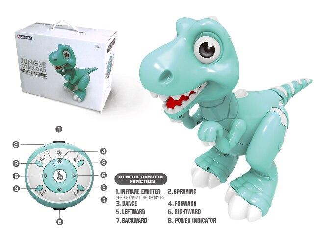 2019 Date Télécommande Dinosaure Interactive Danse Musique Brouillard Respiration Jouet Enfant De Noël Cadeaux