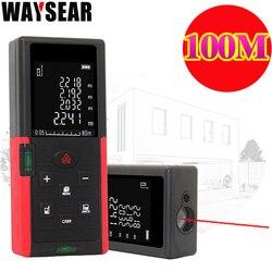 Waysear 40m 60M 100M dalmierz laserowy cyfrowy dalmierz laserowy laserowe narządzie pomiarowe linijka trena miarka dalmierz narzędzia