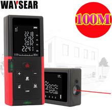 waysear 40m 60M 100M laser rangefinder digital laser distance meter laser Roulette ruler trena tape measure range finder tools