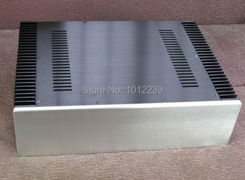 hot sale New power amp aluminum/ amplifier chassis  Both sides with heatsinks size width 430 mm    Height 120 mm   Depth 310 mm