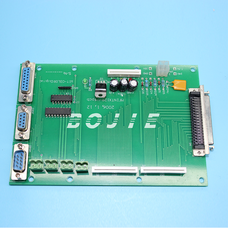Xaar 382 terminal board for Wit color ultra 3000 printerXaar 382 terminal board for Wit color ultra 3000 printer