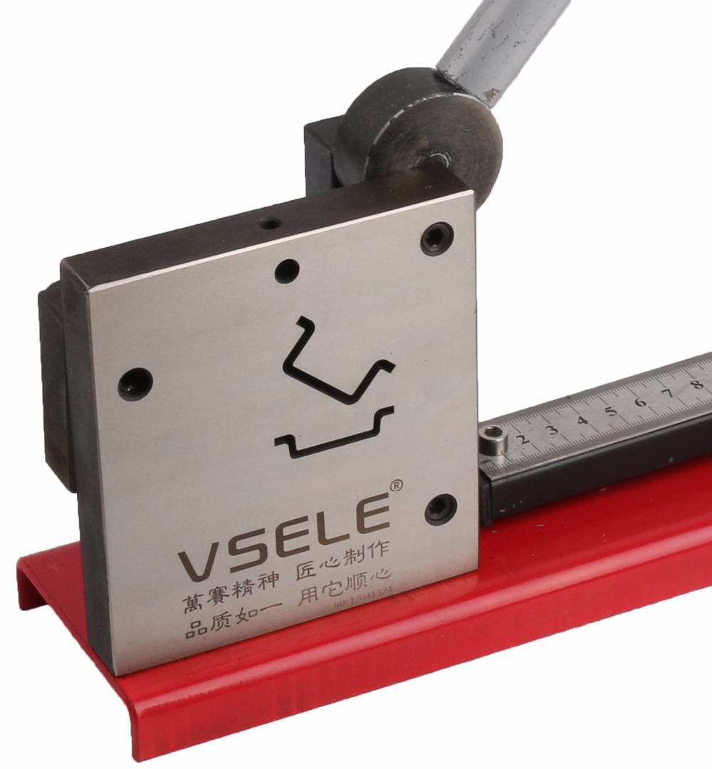 multifuntional din rail cutter cutting 2 kinds of din rail easy cut with measure gauge