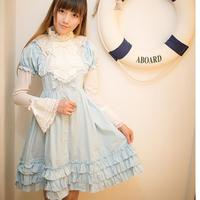 2016 New Fashion Brand Lolita Royal Fairy Tale Autumn Retro Lolita Dress Japanese Soft Sister Ruffle