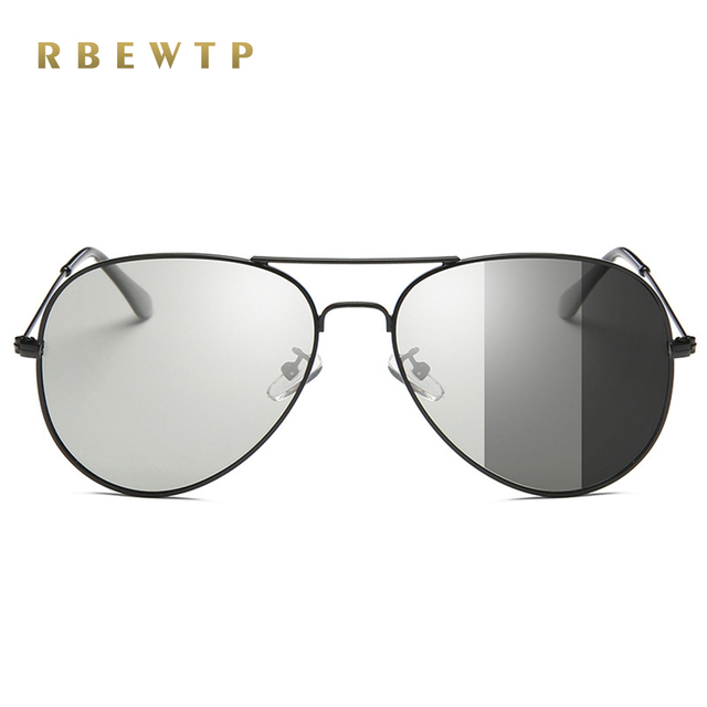 51982029ab1 RBEWTP Original Brand HD Lens Photochromic Polarized Sunglasses Men Driving  Day and Night Vision Goggles Sun