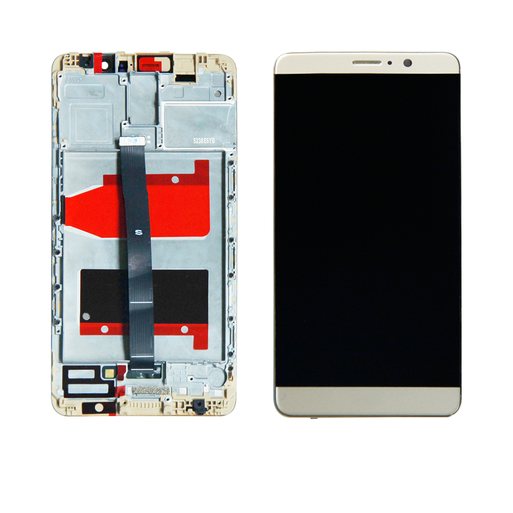 For 5.9Huawei Mate9 MHA L09 MHA L29 Mate 9 LCD Display Screen Digitizer Touch Panel Glass Sensor Assembly with Frame