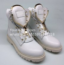 2016 fall Taiga Combat Boots black military boots women's lace up ankle boots beige Leather Taiga Ranger Boots for women
