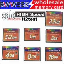 Горячая Высокая скорость compact flash cf карта 512MB 1GB 2GB 4GB 8GB 16GB 32GB 133X20 M/S карта памяти h2test