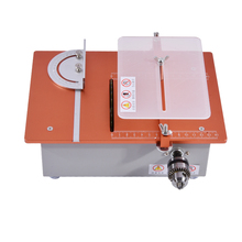 New Arrival Multifunctional Miniature Table Saw Desktop Cutter Mini Table Saw 12v-24v/4-10A 5000-10000 r/min 31-34mm Hot Sale